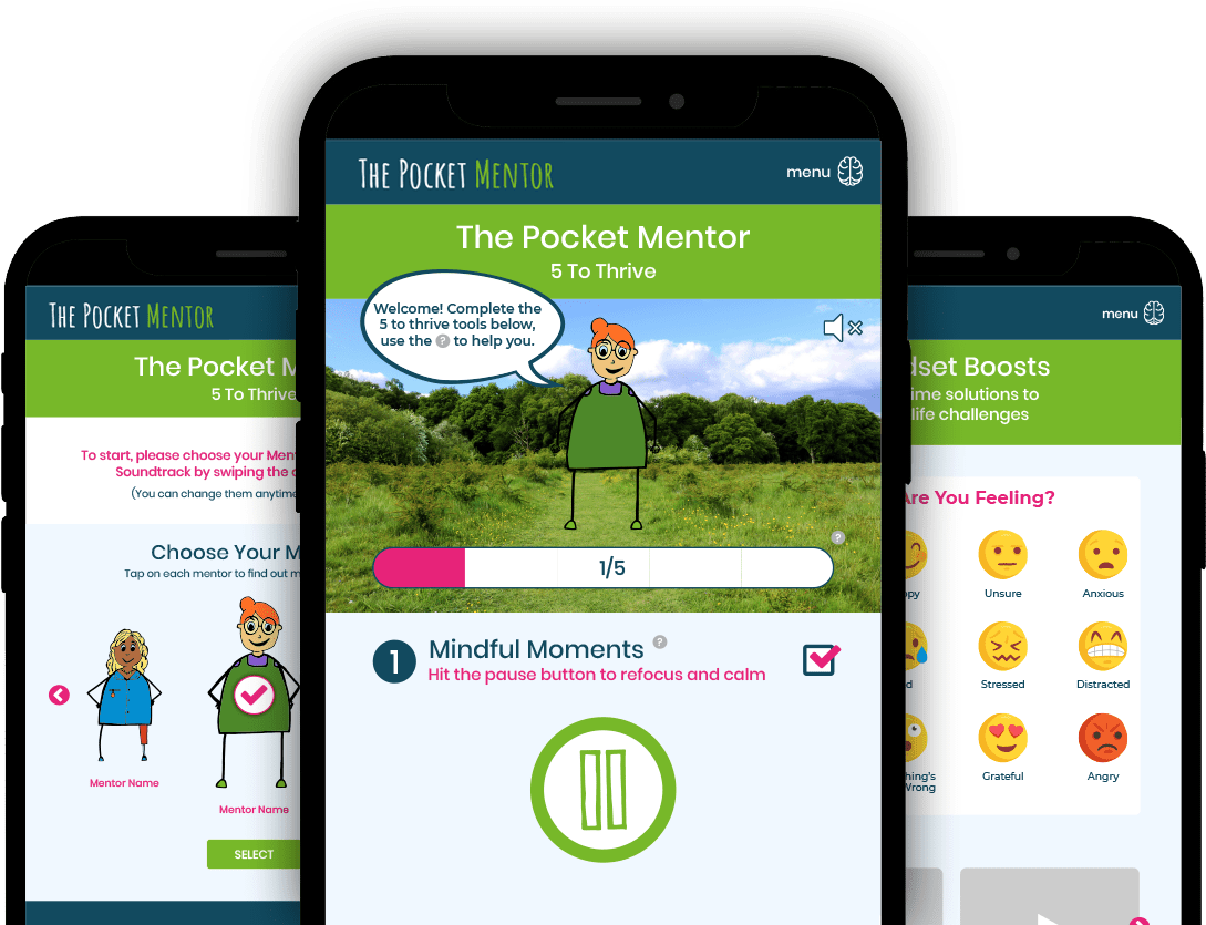 The Pocket Mentor App Jan 2021